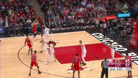 Melhores momentos: Chicago Bulls 136 x 102 Atlanta Hawks