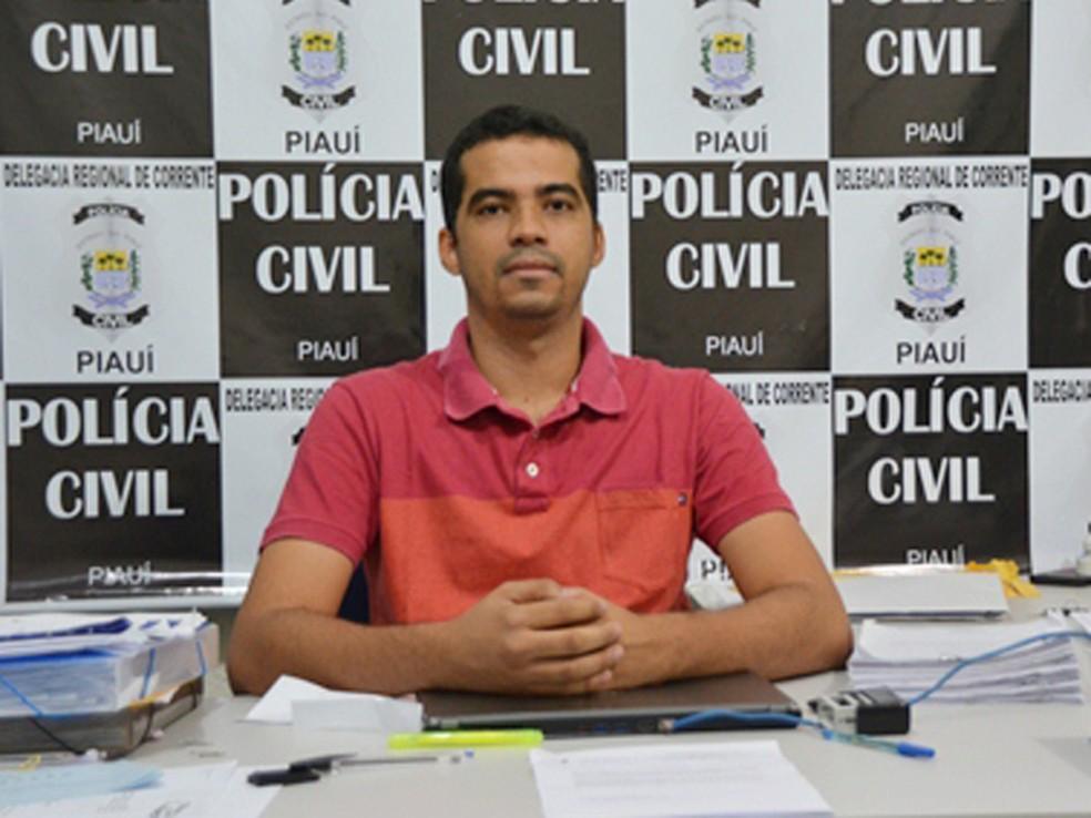 Delegado Danilo Barroso investigava o caso (Foto: Cristiano Setragni/PortalCorrente)