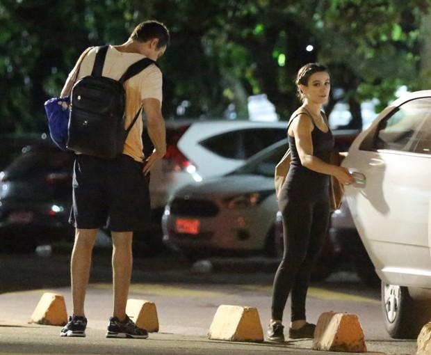 Bianca Bin e Sérgio Guizé (Foto: AgNews)