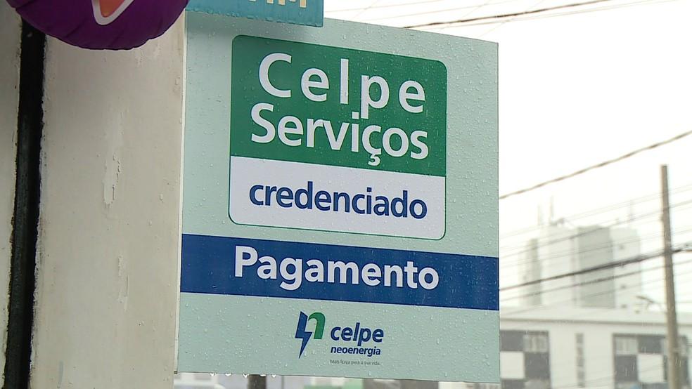 Companhia criou 650 pontos de arrecadação chamados de Celpe Serviços (Foto: Reprodução/TV Globo)