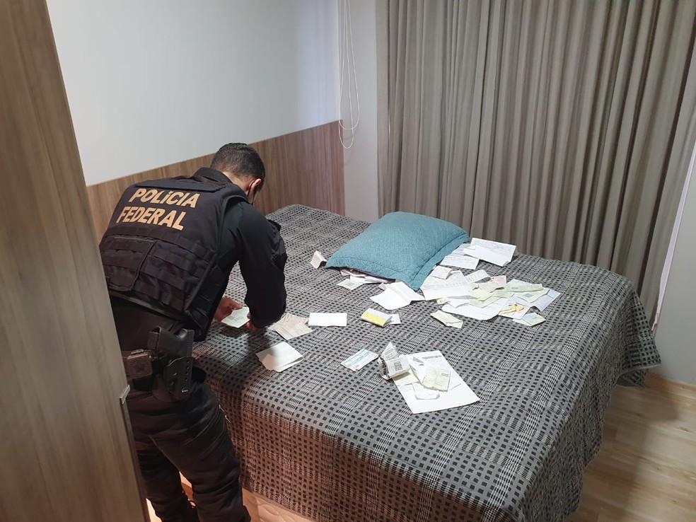 Operação Sniper: PF prende suspeitos de associação ao tráfico em Porto Velho — Foto: PF/Divulgação