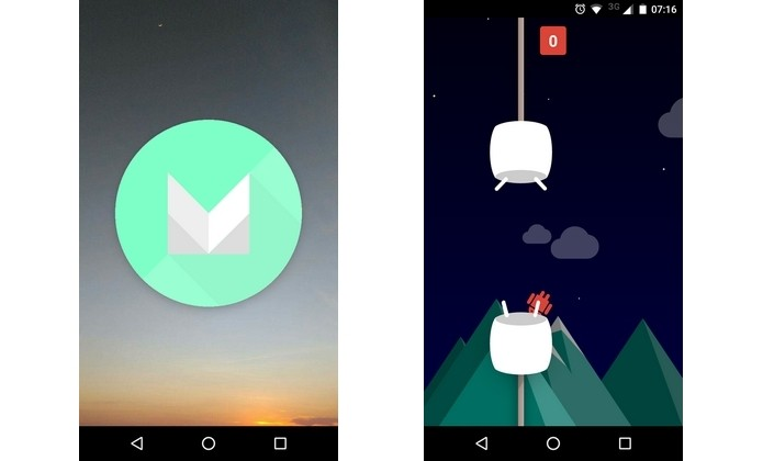 Easter Egg com jogo escondido está presente nos Android Nougat e Marshmallow (Foto: Reprodução/Raquel Freire)
