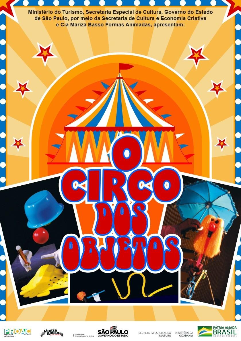'Circo de Objetos' faz apresentações online gratuitas em seis cidades do centro-oeste paulista