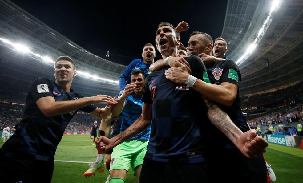 Croácia vai disputar a primeira final de sua história (Foto: Reuters)