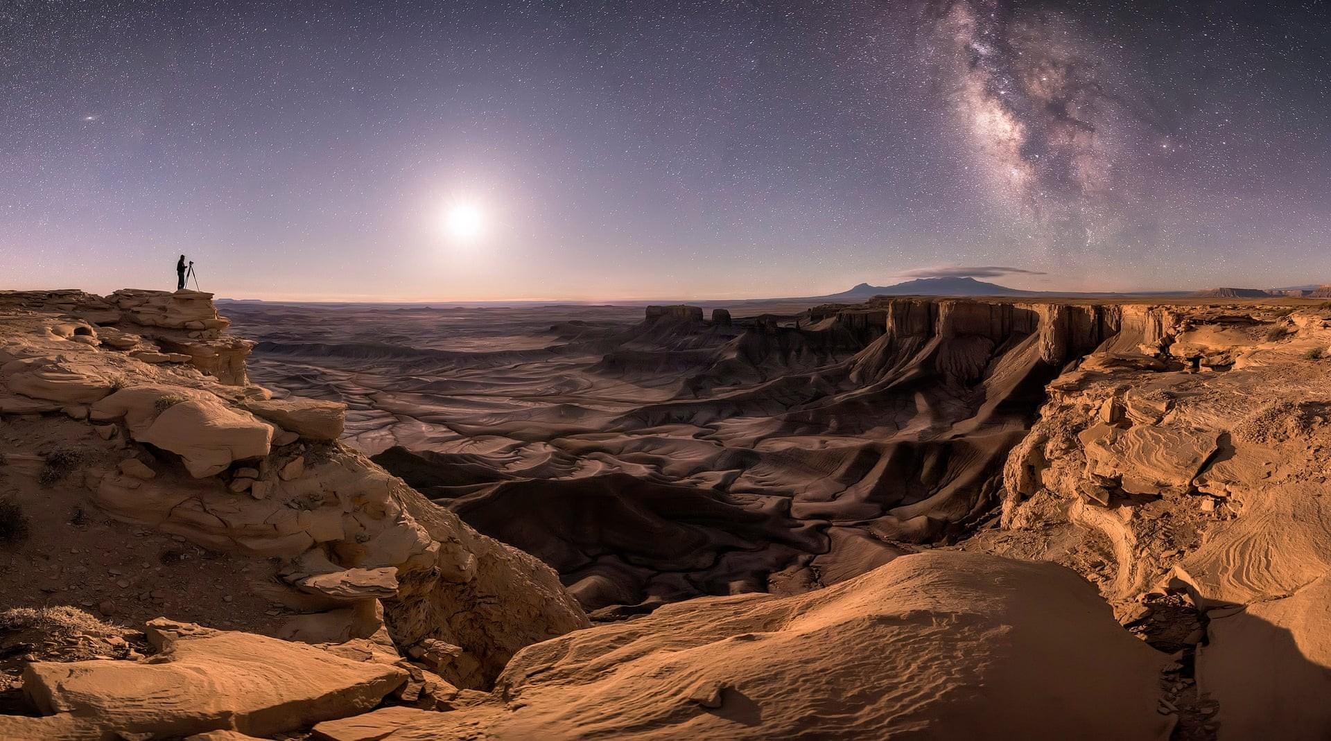Imagem vencedora do concurso Insight Investment Astronomy Photographer of The Year foi clicada pelo fotógrafo amerciano Brad Goldpaint  (Foto: Reprodução)