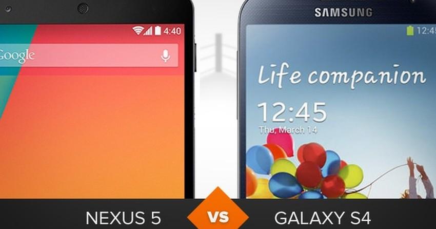 Nexus 5 ou Galaxy S4? Confira o comparativo de celular