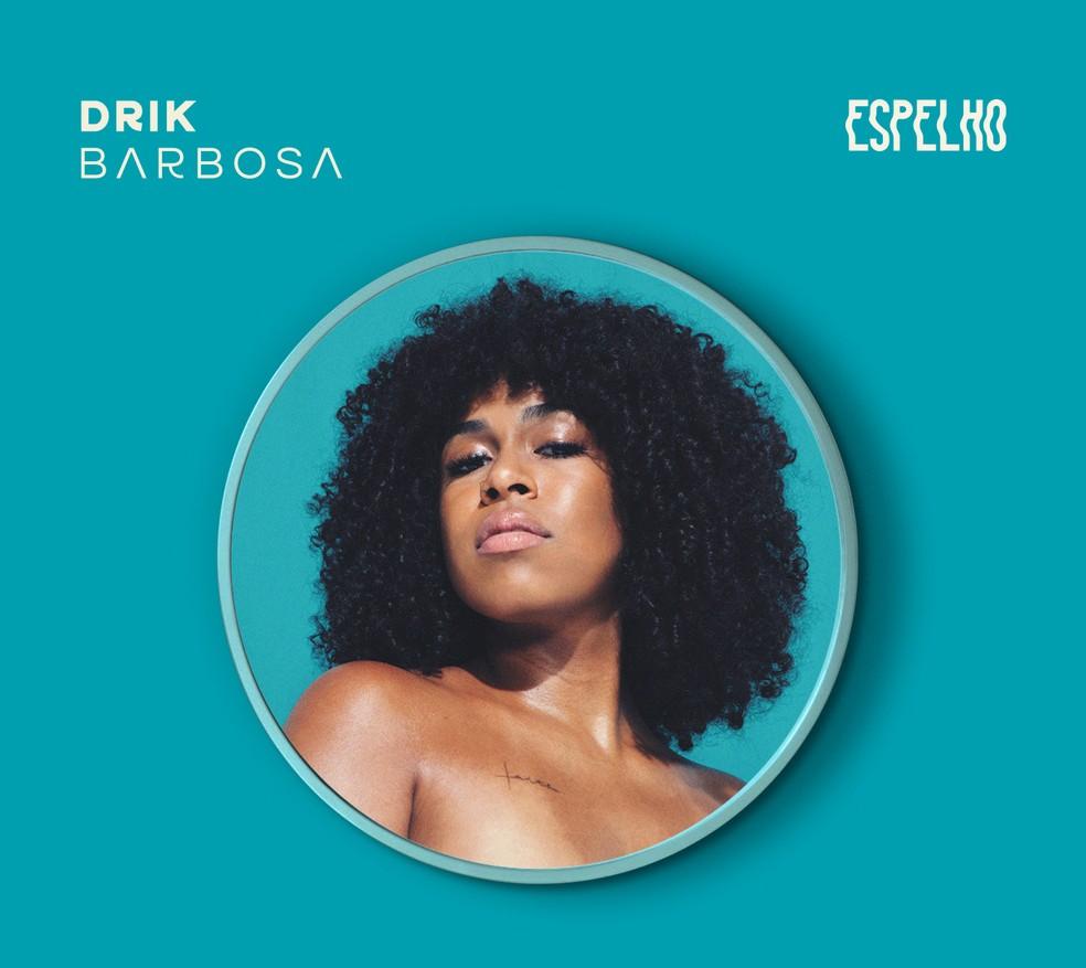 Capa do EP 'Espelho', de Drik Barbosa (Foto: Divulgação / Laboratório Fantasma)