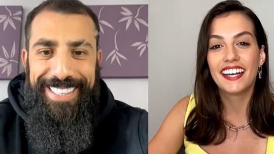 Kaysar Dadour fala sobre expectativas para o 'BBB21' em live com Camila Barbieri