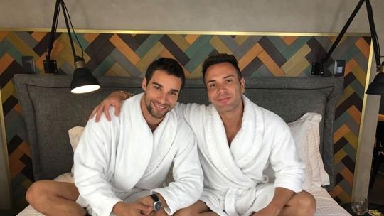 Pablo Morais confessa ter vontade de ser pai para Matheus Mazzafera: 'Casar, ter filhos, com certeza'