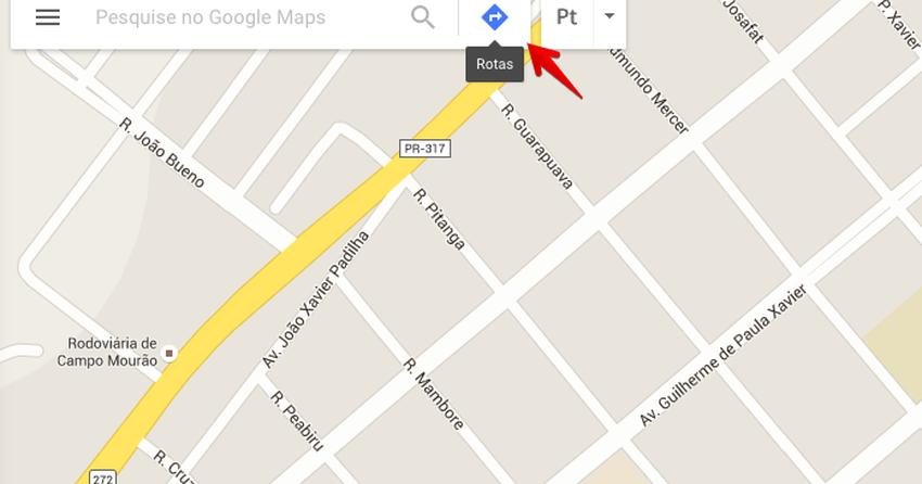 Como criar rotas no Google Maps e ir de um lugar ao outro