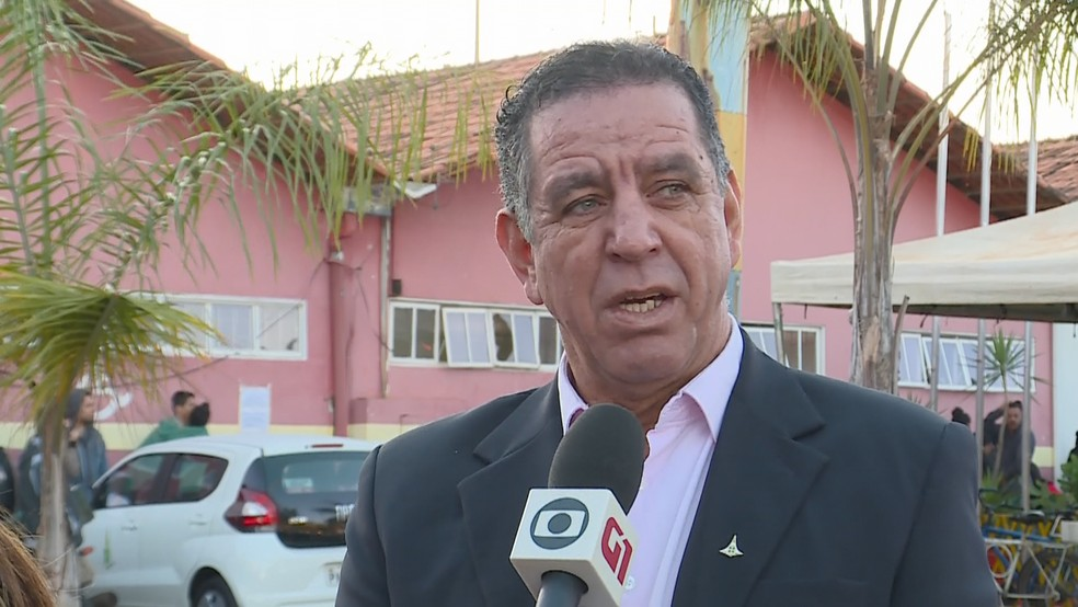 O administrador de Santa Maria, no DF, Miro Gomes — Foto: TV Globo/Reprodução