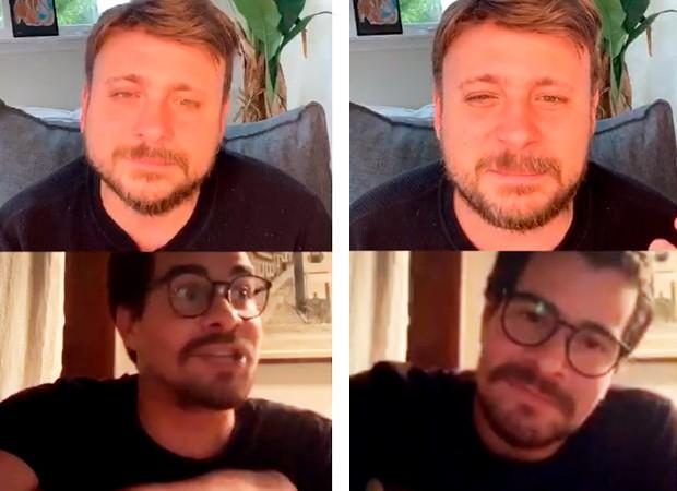 Thiago Martins e Léo Fuchs (Foto: Reprodução/ Instagram)