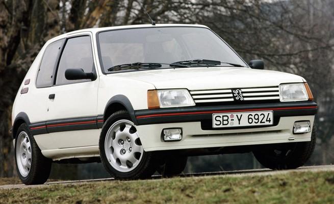 Peugeot 205 1984 (Foto: Peugeot)