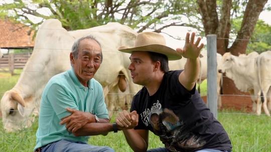 Neste sábado tem japonês mineiro, Expozebu e lançamento de uma série no 'Tô Indo'