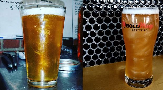 O glitter é adicionado primeiro ao copo e depois misturado à bebida. (Foto: Divulgação)