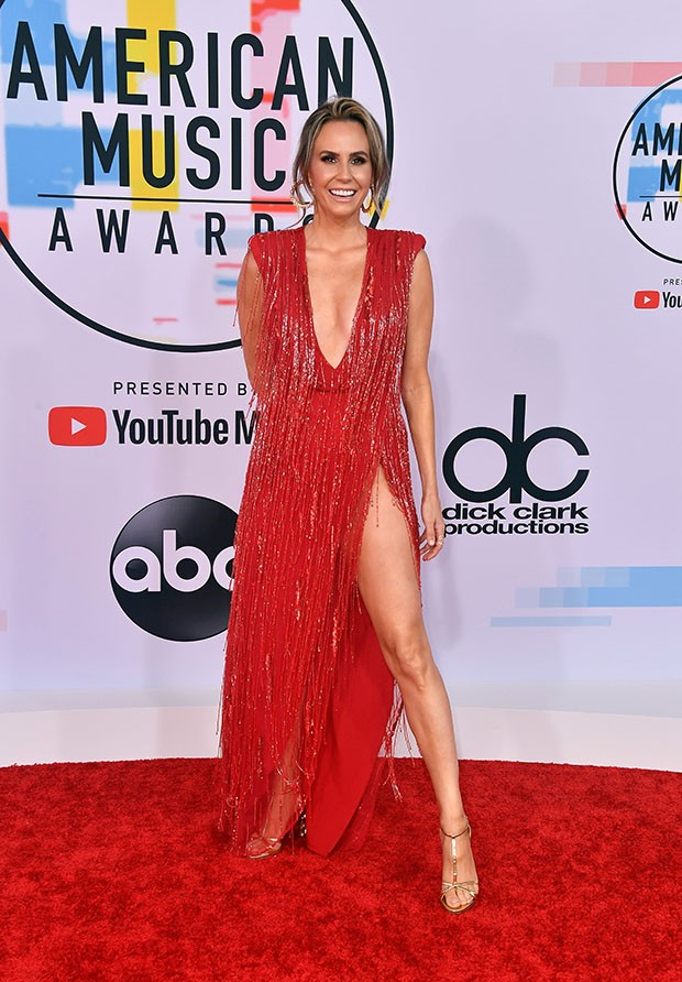 LOS ANGELES, CA - OCTOBER 09:  Keltie Knight attends the 2018 American Music Awards at Microsoft Theater on October 9, 2018 in Los Angeles, California.  (Photo by Frazer Harrison/Getty Images) (Foto: Getty Images)