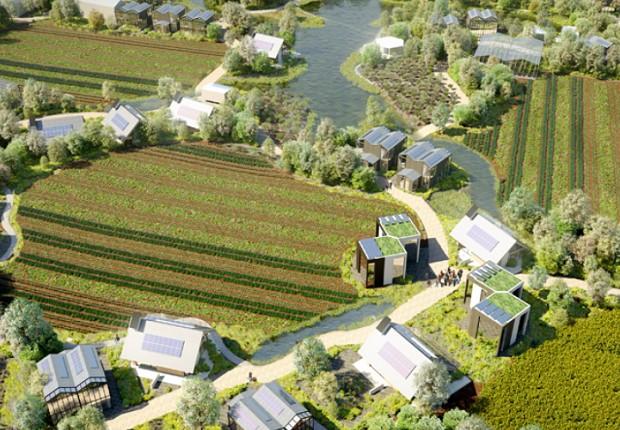Ecovila High Tech da ReGen Villages, que será construída em Amsterdã (Foto: Divulgação)