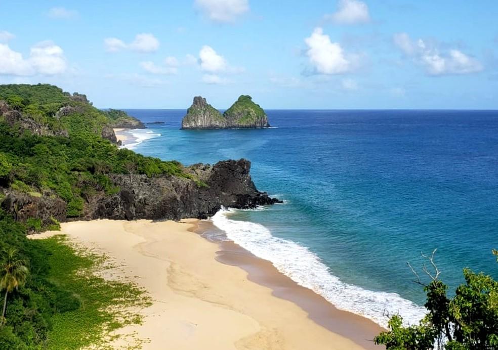 As praias da Área de Proteção Ambiental estão liberadas para os moradores  — Foto: Ana Clara Marinho/TV Globo