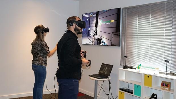 Jogo de escape virtual desenvolvido pela Cia de Estágios (Foto: Divulgação)