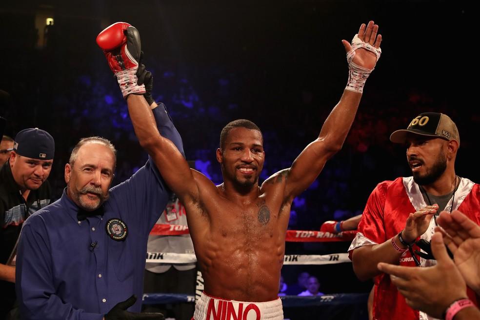 Robson Conceição vence nona luta de boxe profissional da carreira (Foto: Getty Images)
