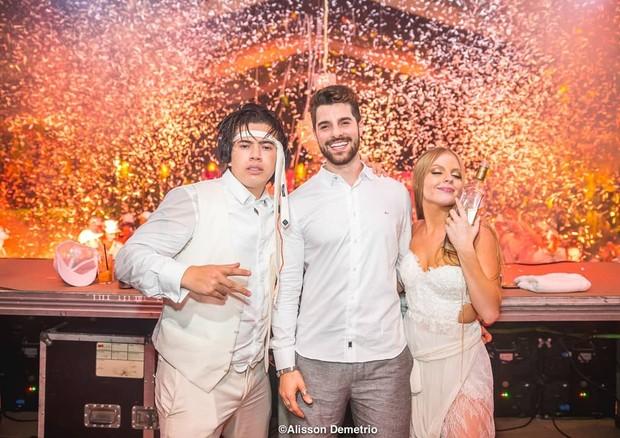 Alok compartilha o fim de festa do casamento de Whindersson e Luísa (Foto: Reprodução/Instagram)