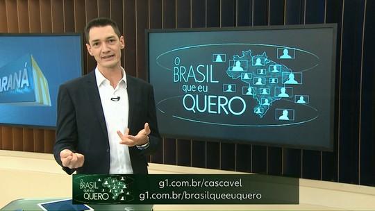 Conta aí, que Brasil você quer para o futuro?