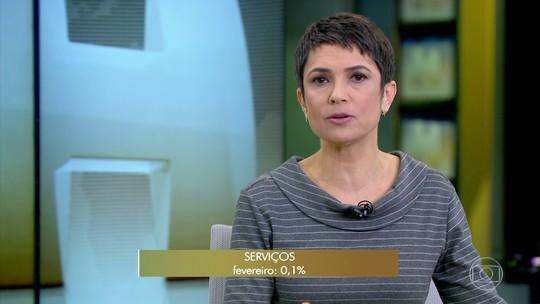 Setor de serviços avança 0,1% em fevereiro e mostra dificuldade de recuperação, aponta IBGE