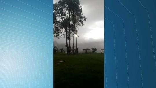 Chuvas fortes atingem regiões Serrana e do Caparaó no ES