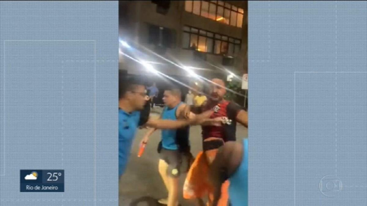 Vendedor de mate é agredido no Rio e acusa guardas municipais de truculência: 'Intenção era acertar o rosto'