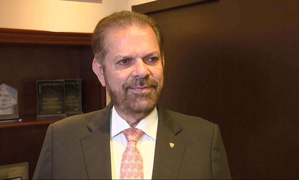 Reinaldo Carneiro Bastos, presidente FPF — Foto: Carlos Velardi / EPTV