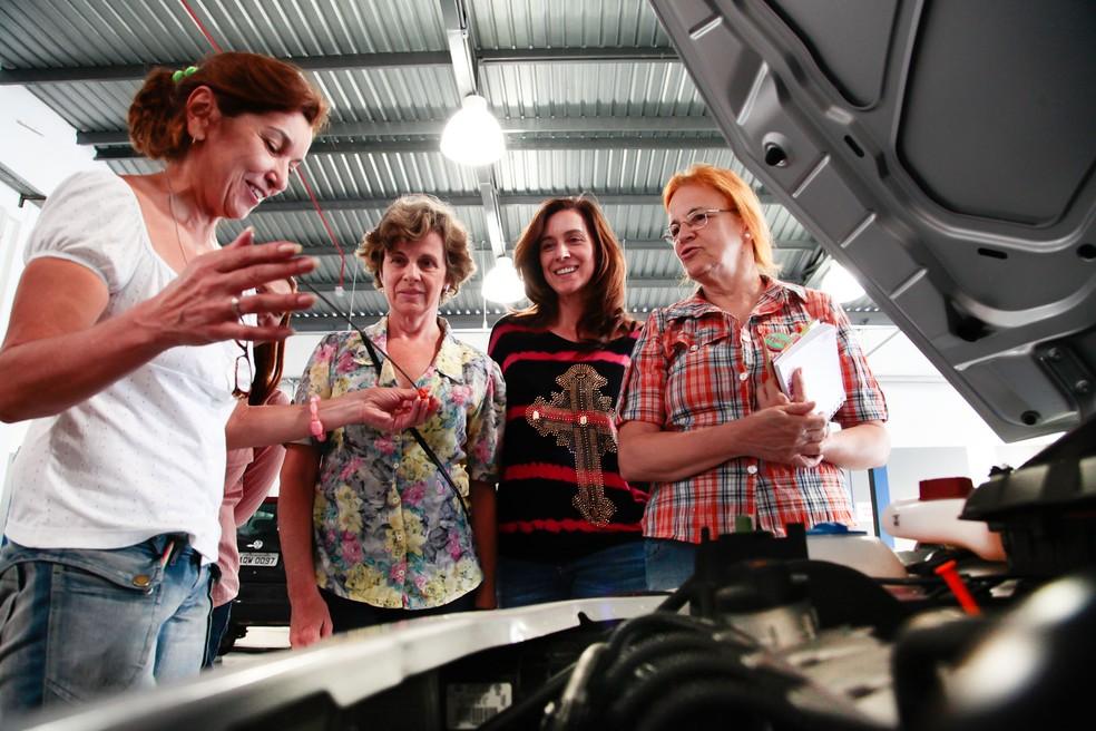 Curso de mecânica será voltado para mulheres (Foto: Divulgação)