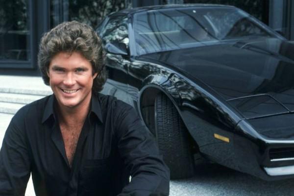 David Hasselhoff na série Super-Máquina (Foto: Reprodução)