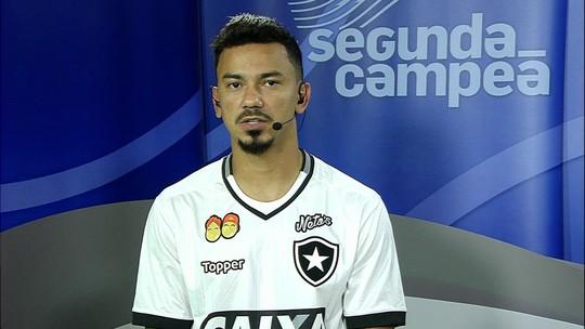 """Lindoso admite que Botafogo """"saiu no lucro"""" após empate com o Ceará no Castelão"""