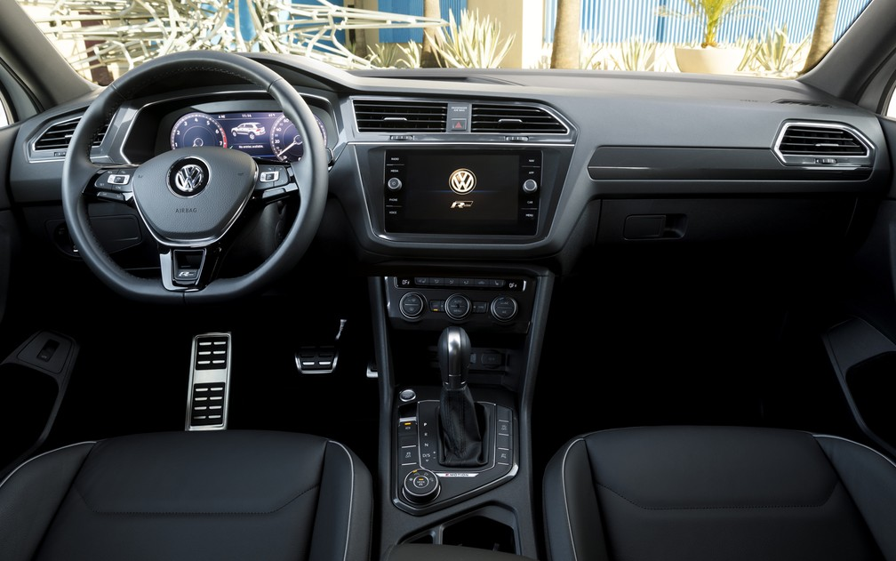 Interior do Volkswagen Tiguan (Foto: Divulgação)