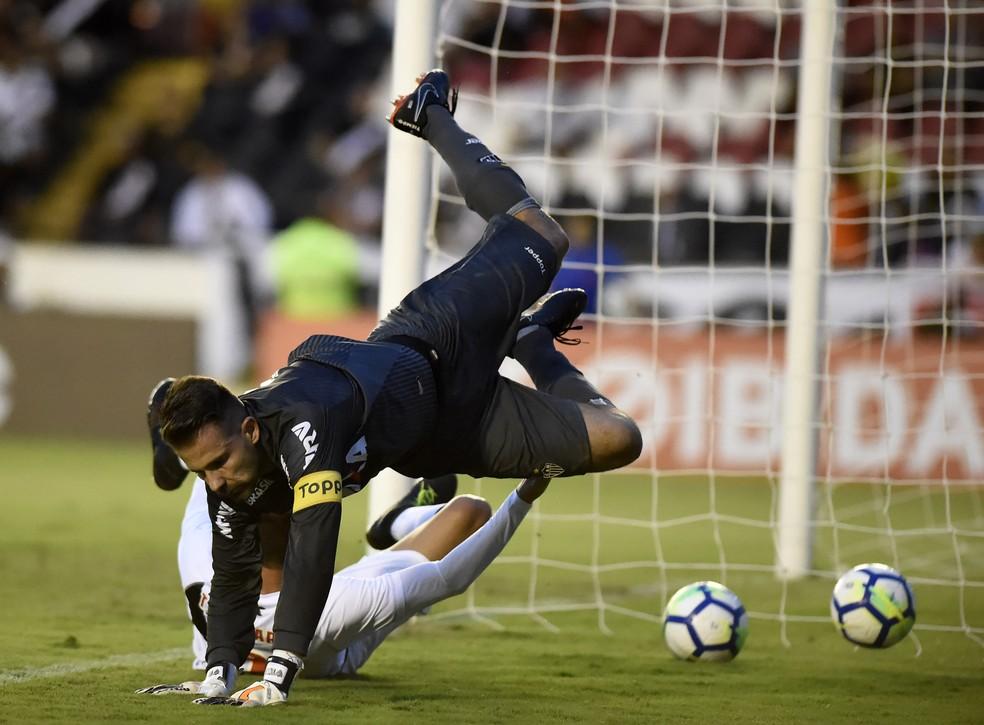 Atlético-MG perdeu para o Vasco no Rio de Janeiro (Foto: André Durão/GloboEsporte.com)