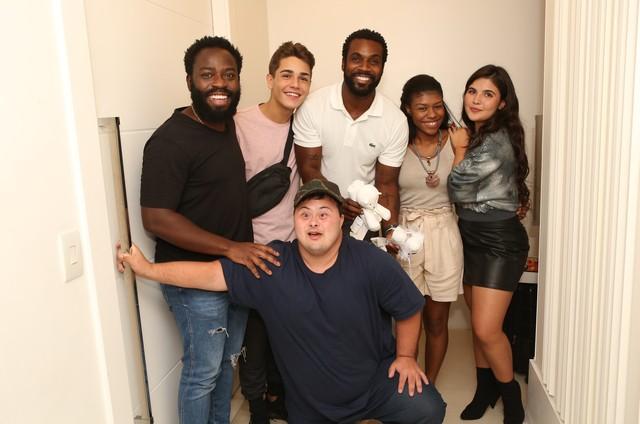 O elenco da série 'Rap Soul' (Foto: Divulgação)