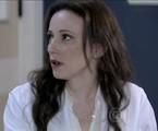 Paula Braun como a médica Rebeca de 'Amor à vida' | Reprodução da internet