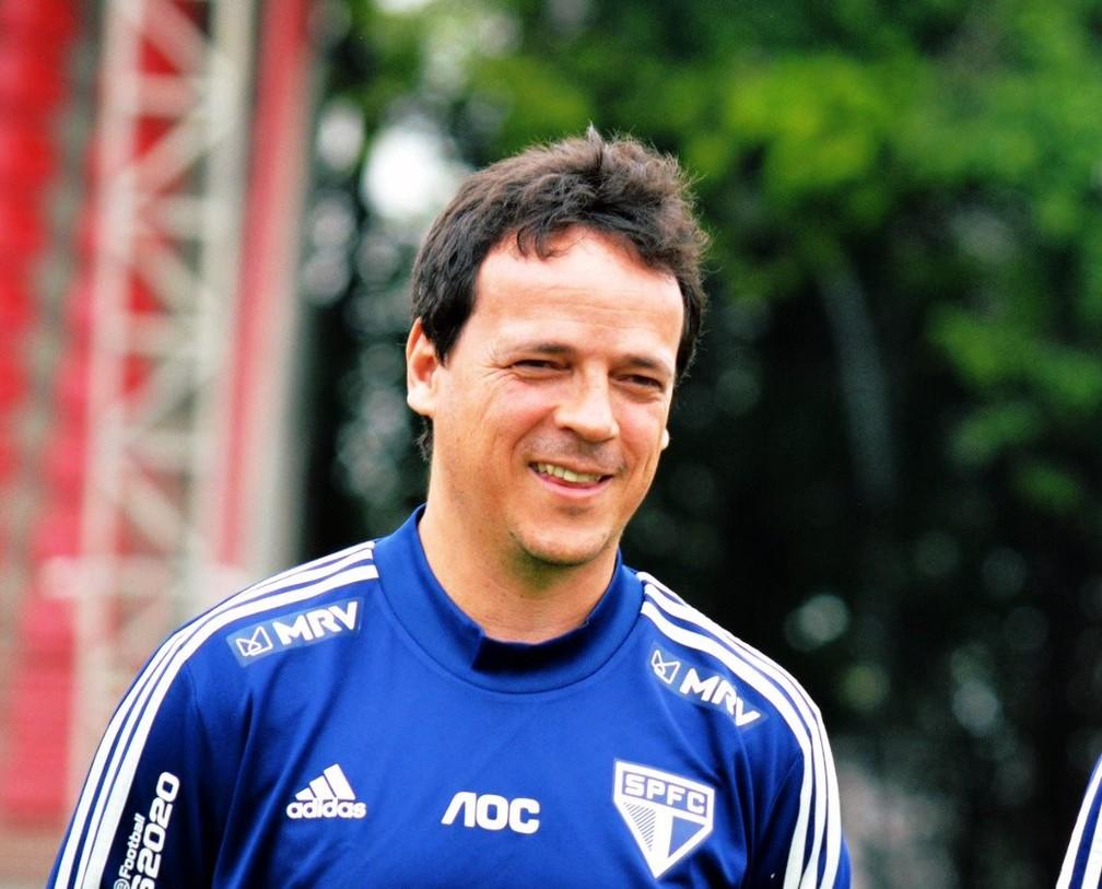 Fernando Diniz aprovou a volta de Jucilei ao São Paulo — Foto: Divulgação / saopaulofc.net
