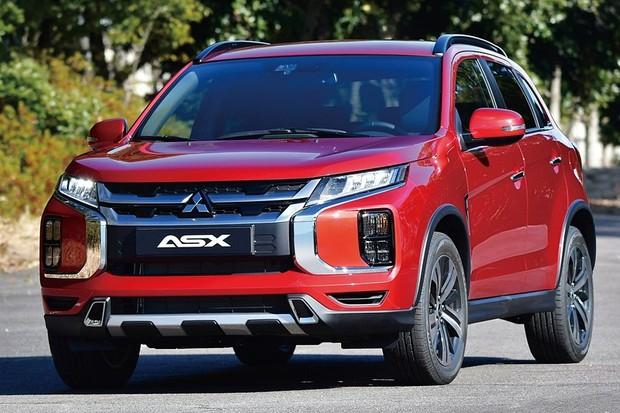 Mitsubishi Asx E Reestilizado De Novo E Ganha Cara De Eclipse Cross