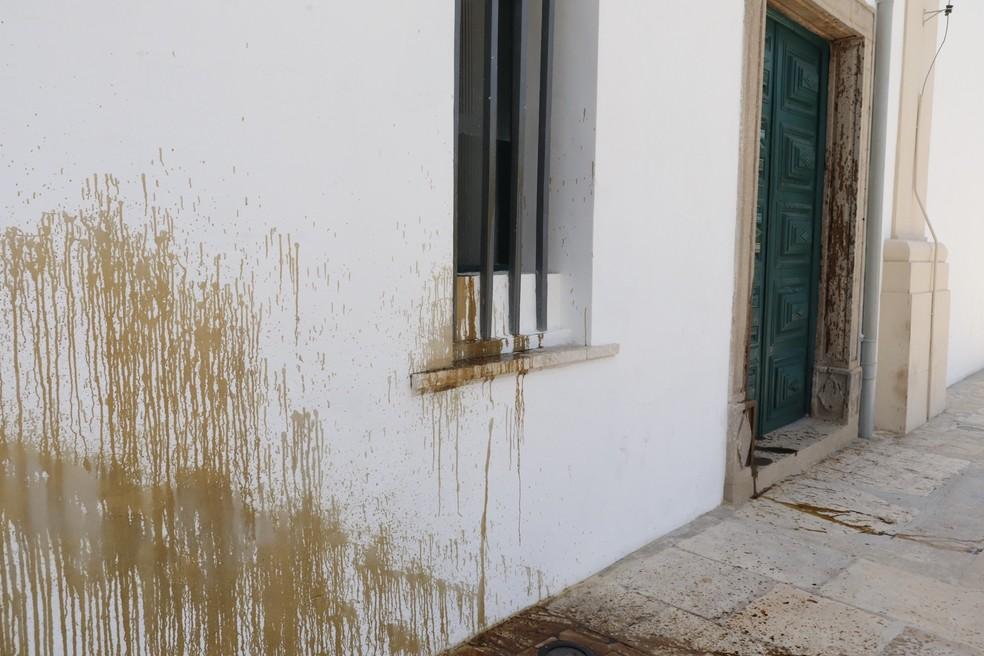 Ato aconteceu cerca de um mês após reinauguração da Igreja  — Foto: Divulgação/Paróquia Nossa Senhora da Purificação