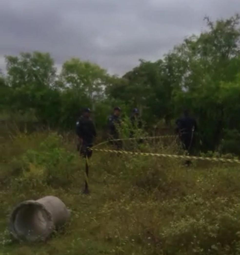 Corpo foi encontrado na manhã desta quinta-feira (12) em Monte Alegre (Foto: PM/Divulgação)