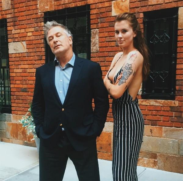 Ireland Baldwin e Alec Baldwin (Foto: Instagram)