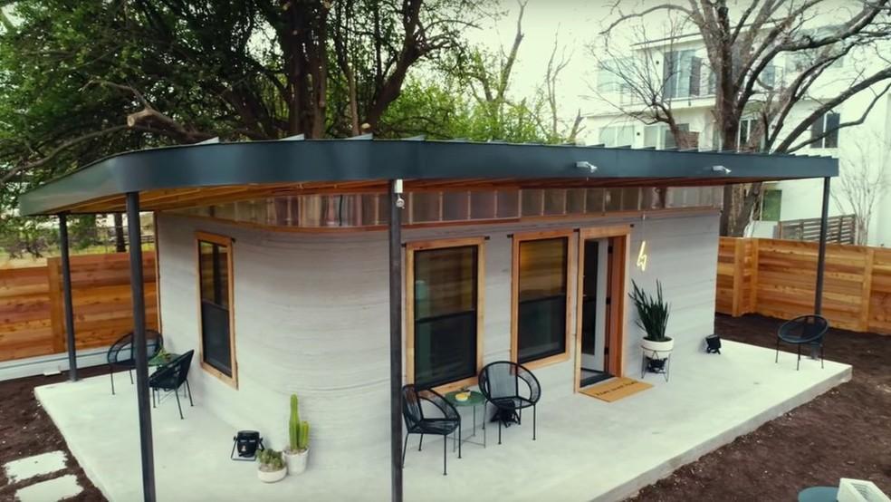 Construir essa casa demorou 48 horas e custou cerca de R$ 109 mil. (Foto: New Story/Divulgação)
