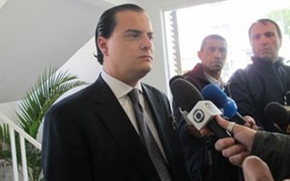 Advogado Alexandre Venturini em foto de 2011: assistente de acusação, defendendo os interesses da família Gurman (Foto: Arquivo/Letícia Macedo/G1)