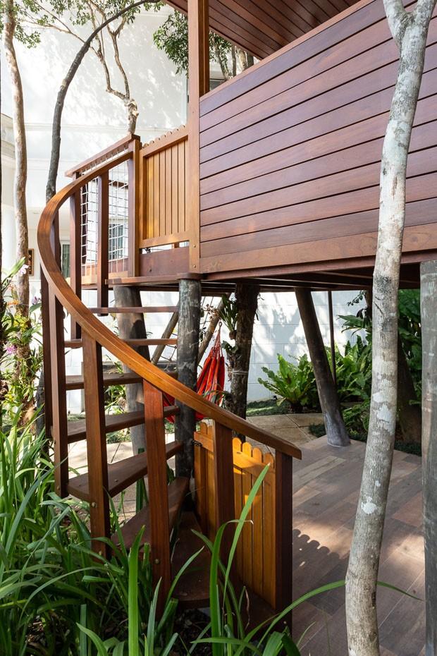 A deliciosa casa na árvore de Thais Fersoza e Michel Teló (Foto: Ricardo Bassetti)