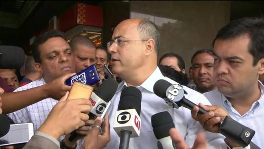 Equipe de Wilson Witzel inicia transição no Palácio Guanabara a partir de quarta-feira