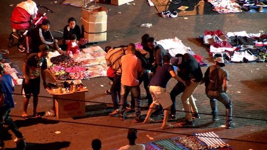 Bandidos agem com violência no centro de São Paulo