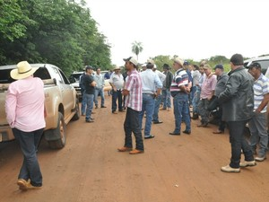 Indígenas têm até sábado para deixar fazenda em Sidrolândia, MS (Foto: Maressa Mendonça/G1 MS)