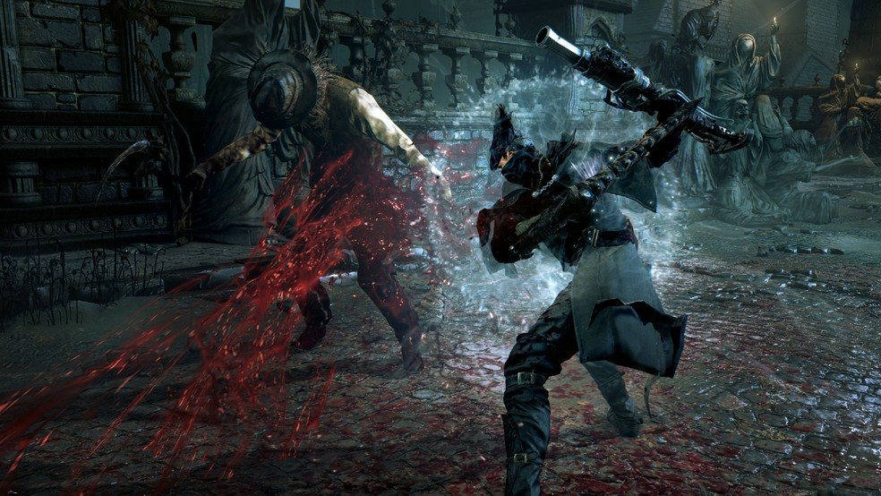 Bloodborne surprised fans of Dark Souls and is among the favorite games of the genre - Photo: Divulgaçà £ o / From Software