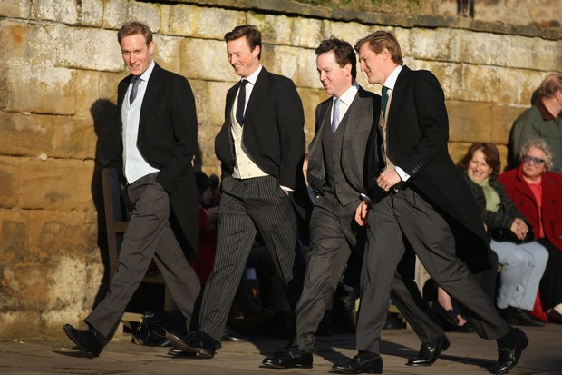 Groom casamento inglaterra (Foto: Christopher Furlong/Getty Images)